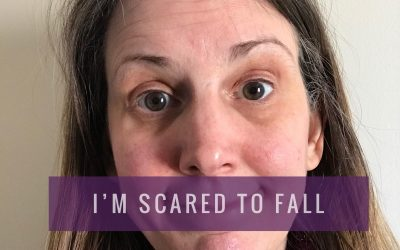 I'm scared to fall… [How to create from LOVE not FEAR]